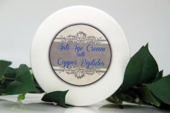 Anti-age cream with copper peptides