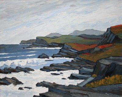 British Artist David BARNES-North of Sandwood Bay