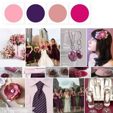 96 best Wedding Color Palettes images on Pinterest Wedding colours