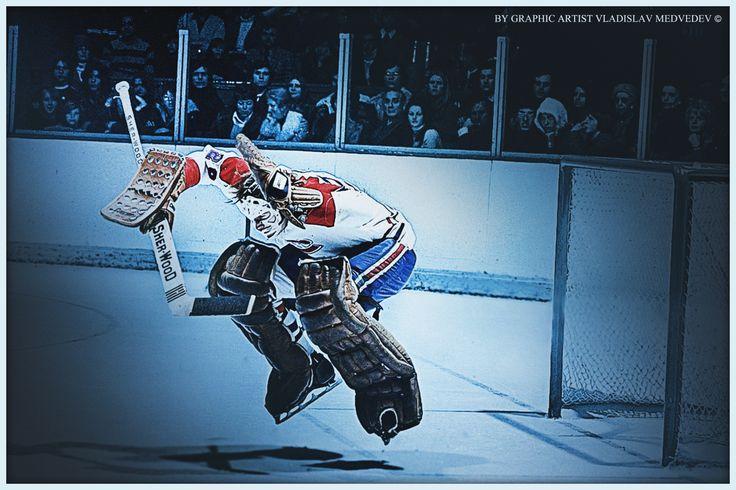 Ken Dryden #nhl #hockey #MontrealCanadiens #goalkeeper