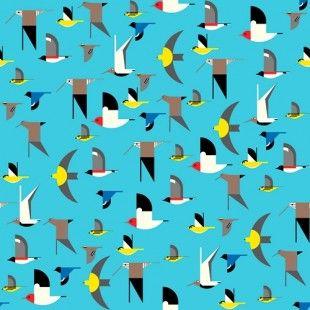 Maritime - Birds Multi Knit