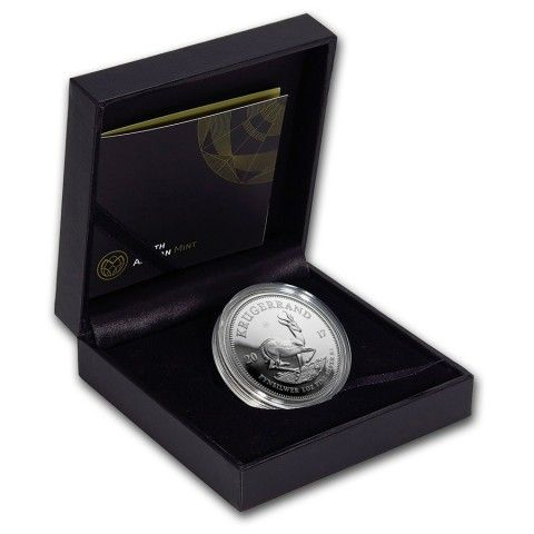 2017 1 OZ SOUTH AFRICA KRUGERRAND 999 SILVER PROOF COIN. #Physical #Assets #LuciusPreciousMetals #Silver #Inventory