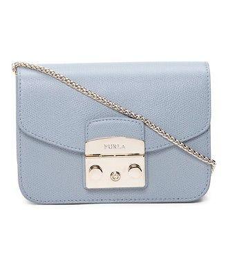FURLA Mini Leather Metropolis Crossbody Handbag Shoulder Bag MSRP $495 NWT