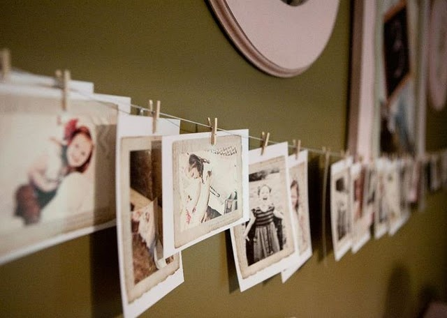 I definitely want to do this in the kids bedrooms to display pictures.