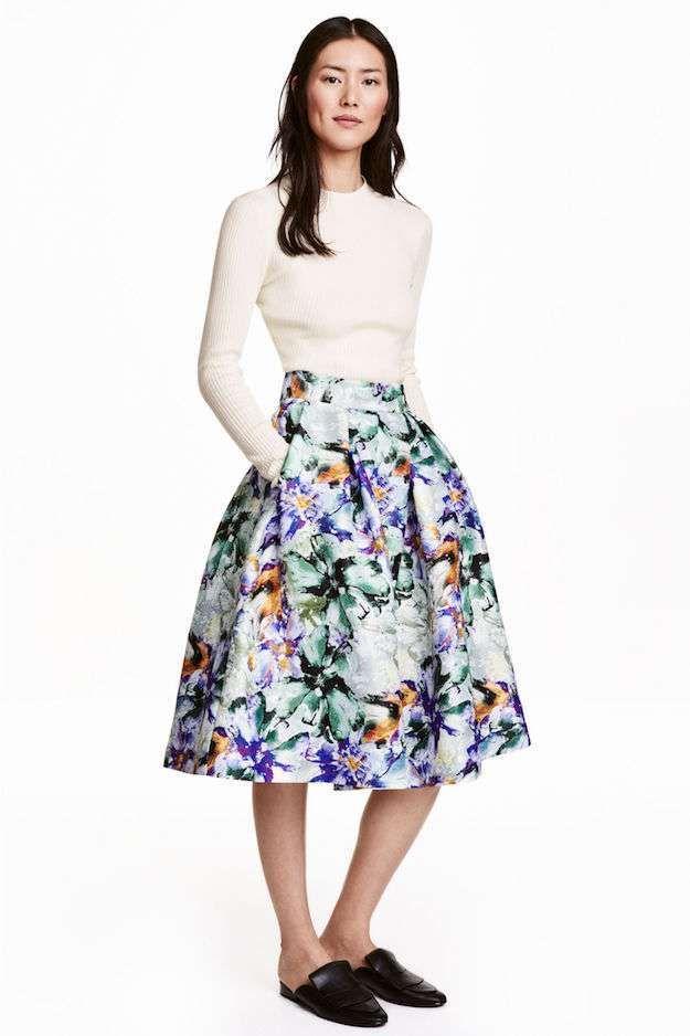 6e4150321fe Modelos de faldas midi  faldas  modelos  modelosdeFalda