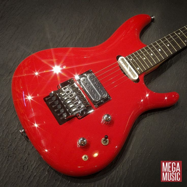 Ibanez JS2480 Joe Satriani Signature Electric Guitar in Muscle Car Red 🚗🎸❤️ #ibanez #ibanezguitars #joesatriani #ibanezelectricguitars #ibanezjoesatriani #guitar #electricguitar