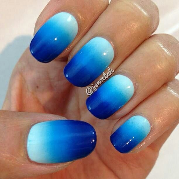 7 best nails images on pinterest nail scissors make up looks ombre nails on pinterest ombre gradient nails and nails prinsesfo Choice Image