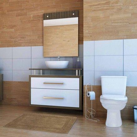 Tapete Banheiro Comfort - Fendi 0,40m x 0,60m - Kapazi