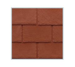 Tapco Plastic Slate Roof Tiles - Brick Red from £5.39