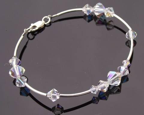 Swarovski Crystal & Sterling Silver Bracelet, Tabitha