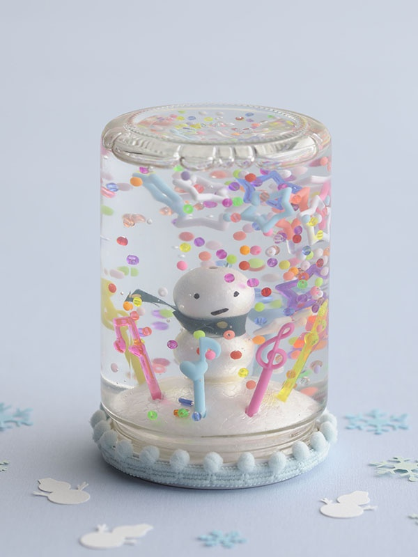 Cute homemade snowglobe. Link is dead though.  Use pic for idea, get how to from googling around