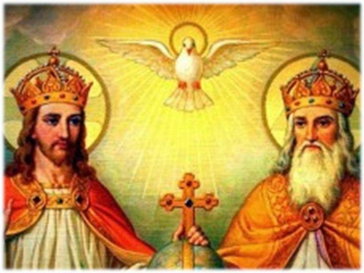 Oración a la Santísima Trinidad   Creo en Ti Dios Padre, creo en Ti Dios Hijo, creo en Ti Dios Espíritu Santo, pero aument...