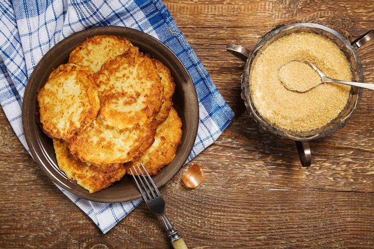 Galettes de pommes de terre - Recette - Boite à lunch/Exit la purée! Ce soir nos patates seront tendres et croustillantes, dorées et fondantes!/fraîchement pressé