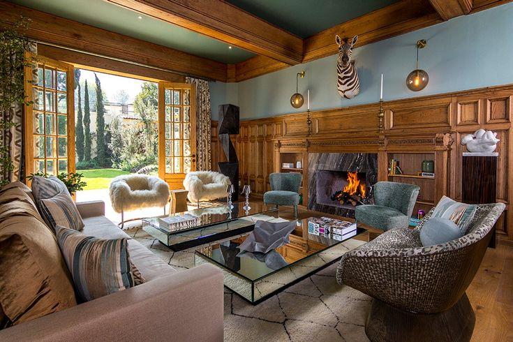 Contemporary Living Room in Lomas de Chapultepec IV Seccion, MX by Sofia Aspe Interiorismo