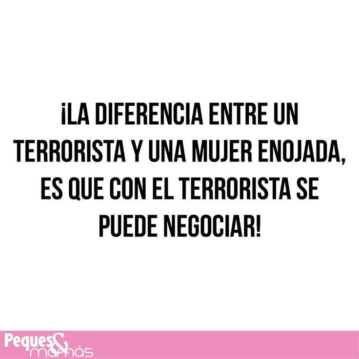 Las mujeres vs los terroristas.