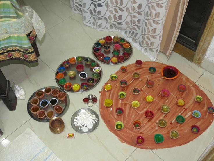 diwali pooja :D