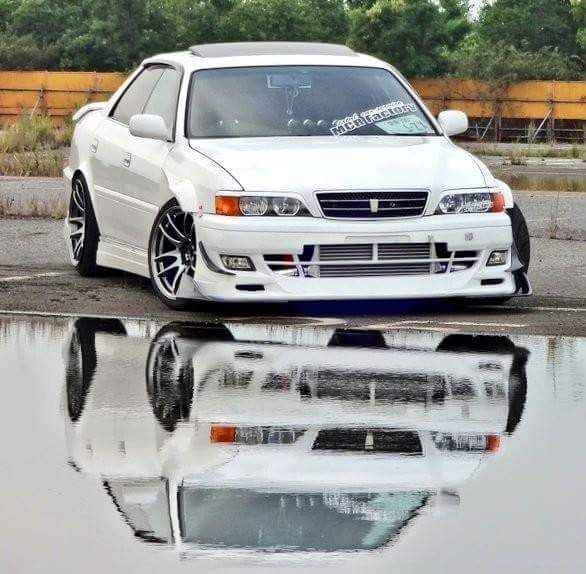 TOYOTA CHASER / JZX100 Rare Spot At The Watering Hole. . Japan CarsDrifting  CarsJdm ...