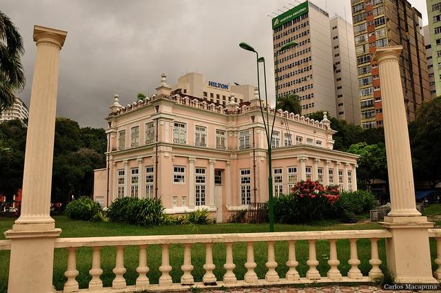 Teatro Experimental Waldemar Henrique , via Flickr