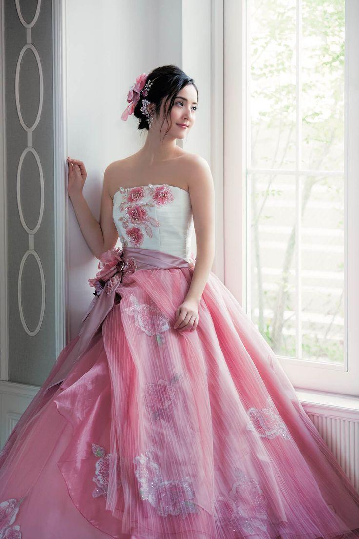 Mejores 97 imágenes de ドレス 9 en Pinterest   Vestidos de novia ...
