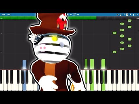 Zack Theme Song Brother Of Zizzy Piano Tutorial Piggy Roblox Youtube Piano Tutorial Theme Song Piggy