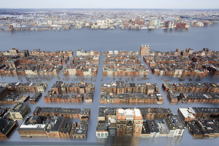 A new study predicts that sea level rise will submerge over 1,700 U.S. cities, including New York, Boston and Miami, by 2100.