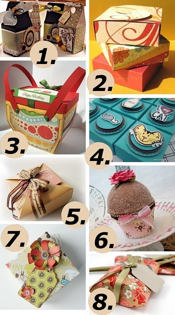 Cute homemade boxes!