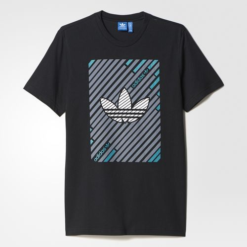 adidas - Camiseta Stripes Trefoil