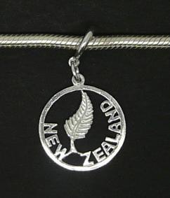 New Zealand Silver Fern Charm  http://www.shopenzed.com/new-zealand-silver-fern-charm-xidp588483.html