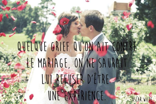 Citation mariage d'Oscar Wilde