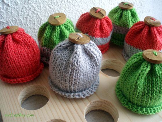 Knitted Egg Cosy