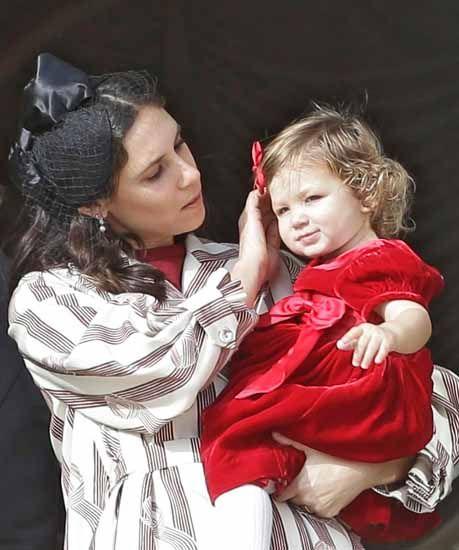 Andrea Casiraghi e Tatiana Santo Domingo, i figli Sacha e India debuttano al National Day… Guarda le foto | People