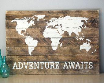 Tracey Bienvenue signe peint sur bois de par SignsfromthePines