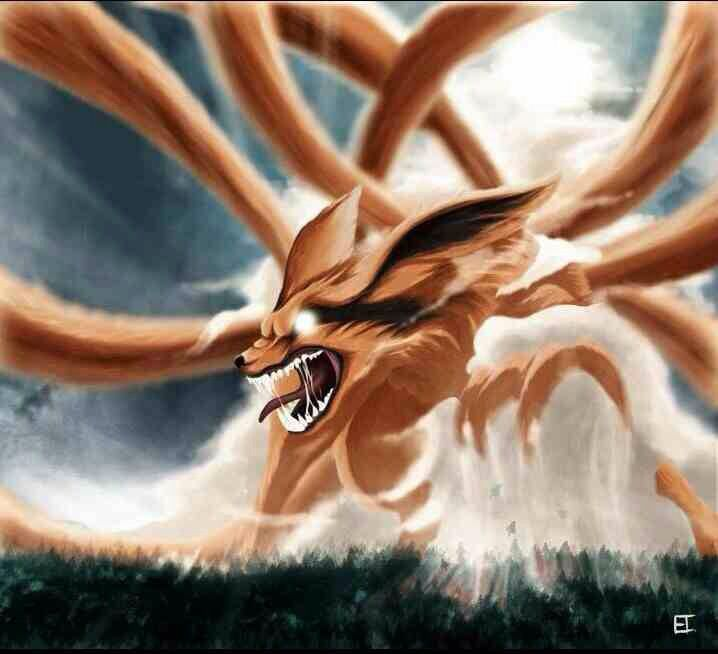 96 Best Images About Naruto Ninetail Demon Fox (Naruto