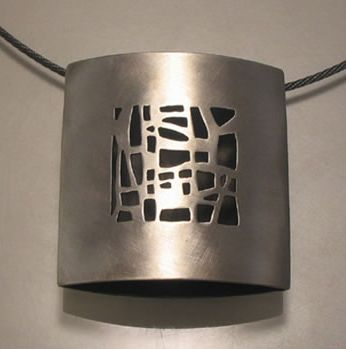 Christy Klug's work is so original and mixes precious metals with a design that's almost industrial in feel. I have earrings and a one-of-a-kind necklace from her.
