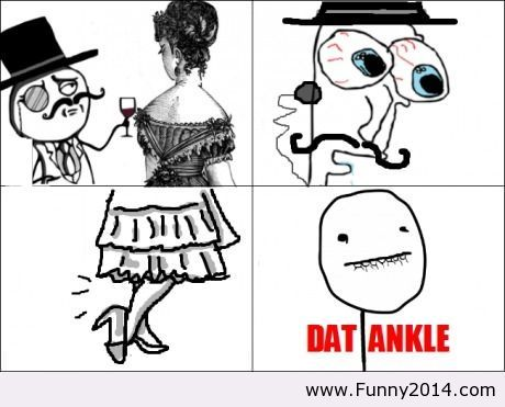 Funny classic 19th century rage comic