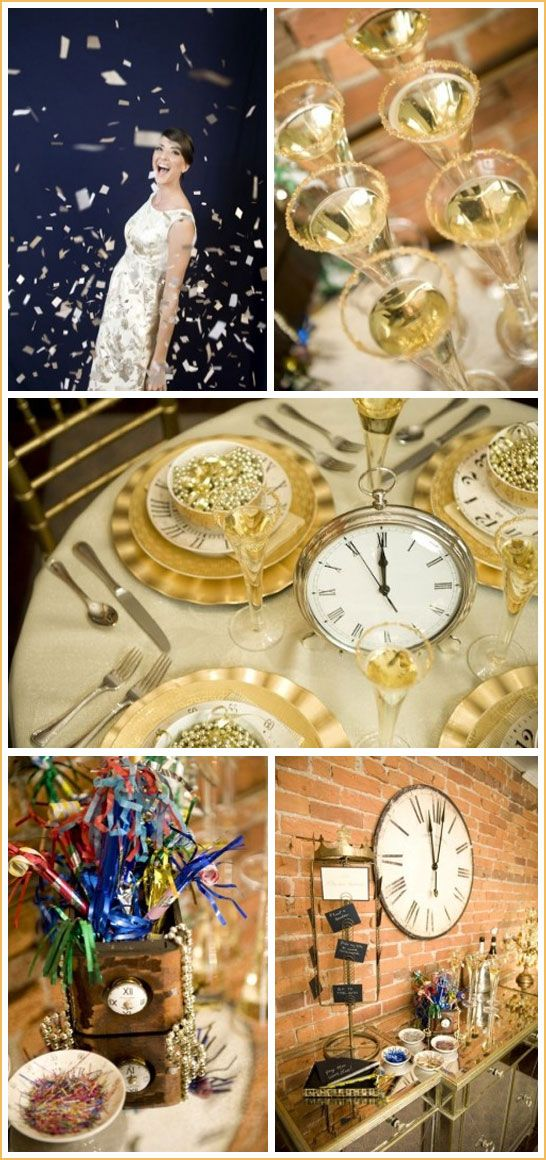 Glamorous New Year Eve Party in Gold