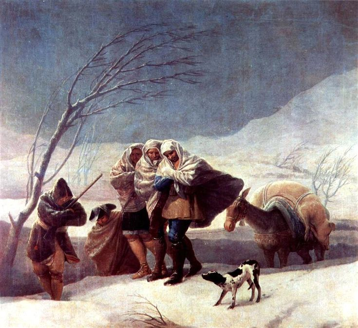 The Snowstorm (Winter) - 1786-87