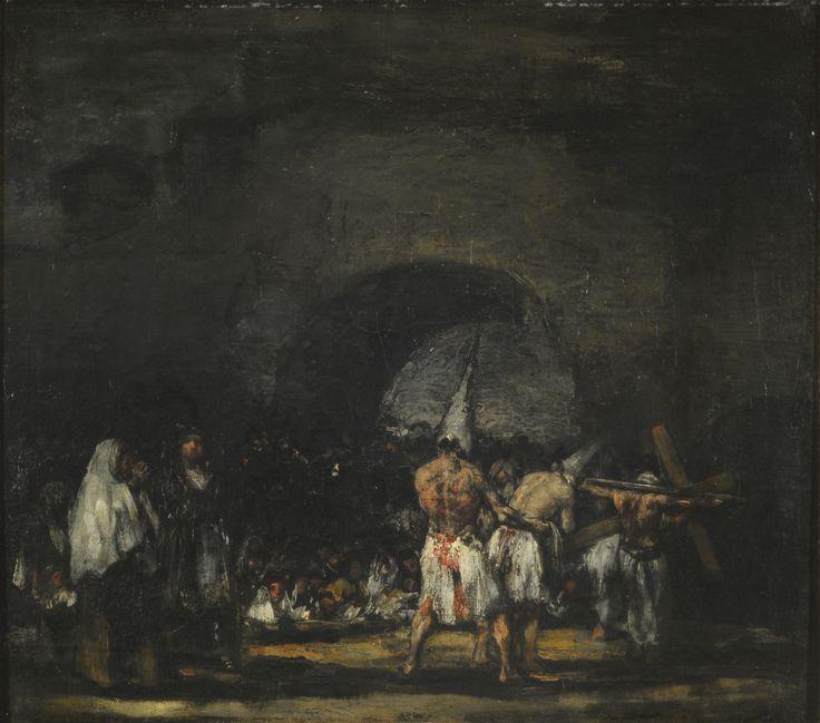 "| Francisco José de Goya y Lucientes | ""Escena de disciplinantes"" | 1948 | Óleo sobre tabla | 51 x 57 cm. - Marco: 79 x 86 cm. | Inv. 6987 | http://www.mnba.gob.ar/coleccion/obra/6987 |"