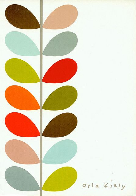 Love this pattern by Orla Kiely