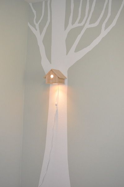 nightlight birdhouse- cute idea