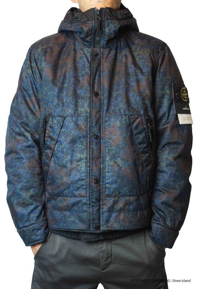 Stone Island Raso Gommato-Camo-Print OVD 2013/14 Online #stoneisland #jacket #camouflaged #camo #madeinitaly