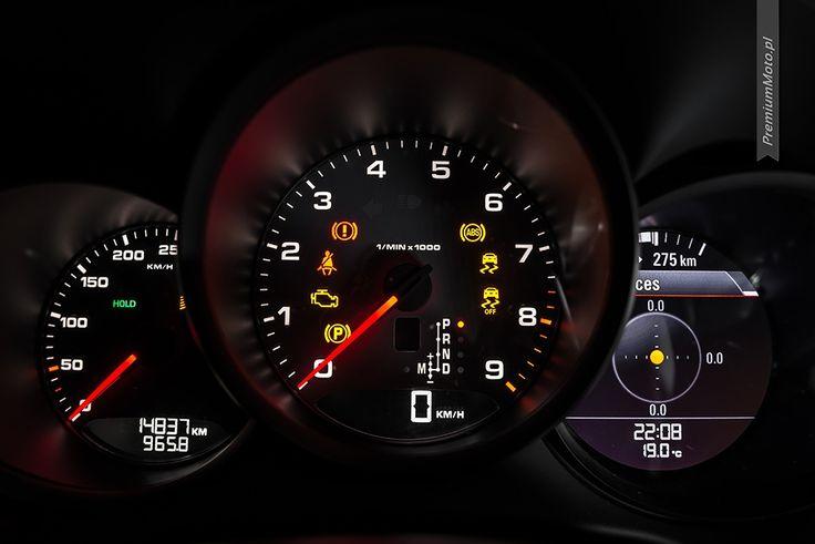 Porsche Boxster S (981) instrument cluster (dials). #porsche #boxster #dials