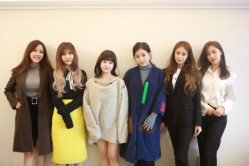 The undated file photo, provided by MBK Entertainment, shows members of South Korean girl group T-ara. (Yonhap)
