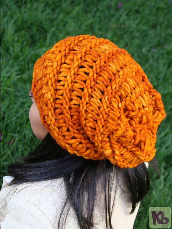 Funky Loom Knitting Slouchy Hat Patterns Pattern Sewing Pattern