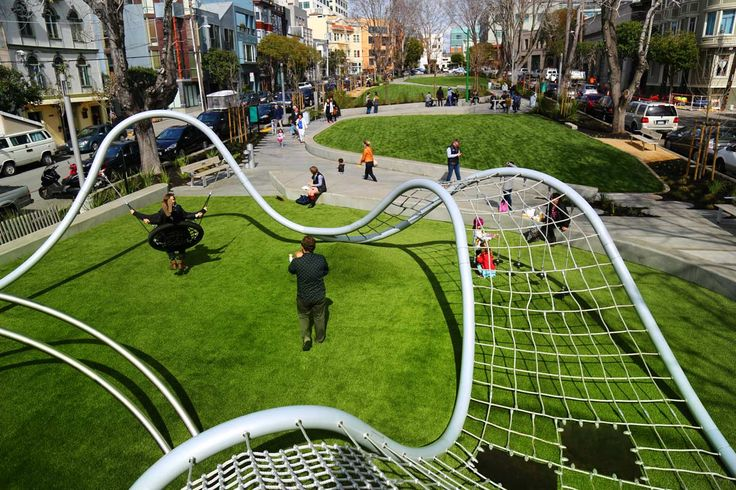South Park, San Francisco by Fletcher Studio « Landscape Architecture Works | Landezin