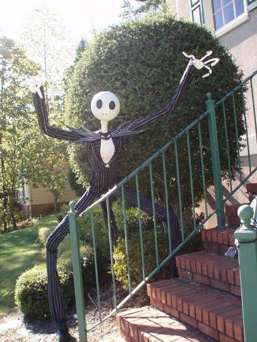 make jack skeleton the pumpkin king for halloween and sandy claws for christmas nightmare before christmas decorations