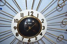 Vintage United Electric Starburst/Sunburst Clock - Estate in Collectibles, Clocks, Vintage (1930-69), Wall   eBay