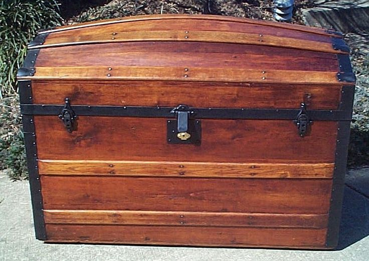 Best images about antique trunks on pinterest