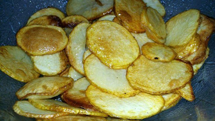 Chips de cartofi - Bucataria lui tati