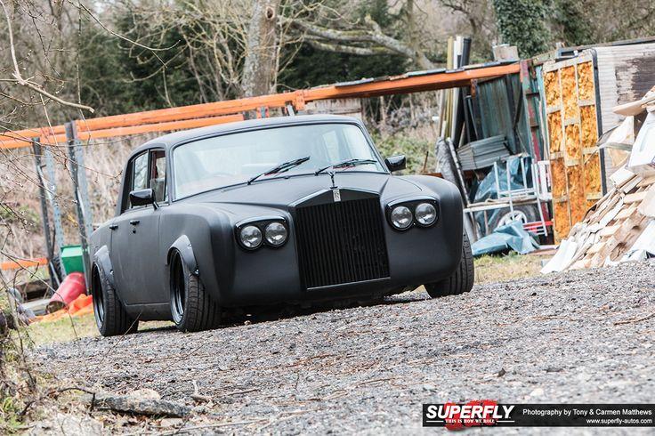 Shane Lynch: Rising Shadow Drift Rolls Royce